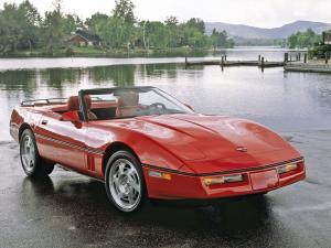 Chevrolet Corvette Convertible 1990 года